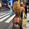 渋谷のハロウィンで過激に露出する仮装コスプレイヤーを盗撮エロ画像