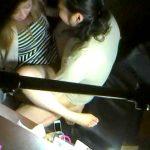 ネカフェの防犯カメラは見た!オナニーやカップルSEXを激写エロ画像