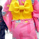 夏祭り浴衣娘のスケスケなパンティラインを隠し撮り下着お尻エロ画像